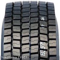 Грузовые шины на ведущую ось 295/80 R22,5 Yokohama TY607