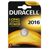 Батарейка Duracell  dl2016 dsn litium 1 штука (035980)