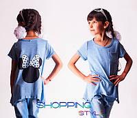 Детская футболка для девочки Кармашек