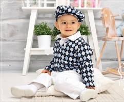 Детские костюмы велюровые