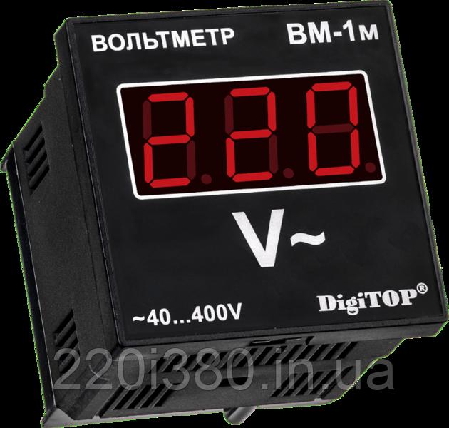 Вольтометр ВМ-1м однофазный щитовой - Магазин электрики 220i380 в Киеве