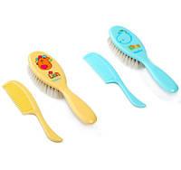 Щётки и расчёски для волос - натуральный волос BabyOno 564
