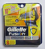 Картриджи Gillette Fusion ProShield  Оригинал 8 шт в упаковке производство Германия для США