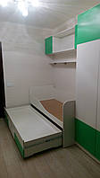 Мебель в детскую комнату. Стенка-кровать в детскую на заказ. мебель в детскую на заказ Днепр.