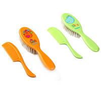 Щётки и расчёски для волос - натуральный волос BabyOno 563