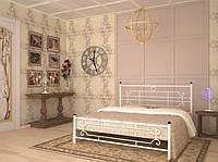 Кровать металлическая полуторная Винтаж