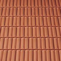 Черепиця керамічна Creaton Rustico натуральний червоний Черепица керамическая Креатон Рустико, фото 1