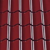 """Черепица керамическая Creaton Sinfonie красно-винная глазурь коллекции """"Finesse"""" Черепиця натуральна Креатон"""