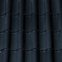 """Черепиця керамічна Creaton Sinfonie чорний матовий ангоб колекції """"Nuance"""" Черепица натуральная Креатон"""