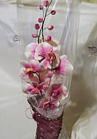 Сахарные цветы из мастики орхидеи на заказ Харьков