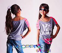 Детская футболка для девочки Live