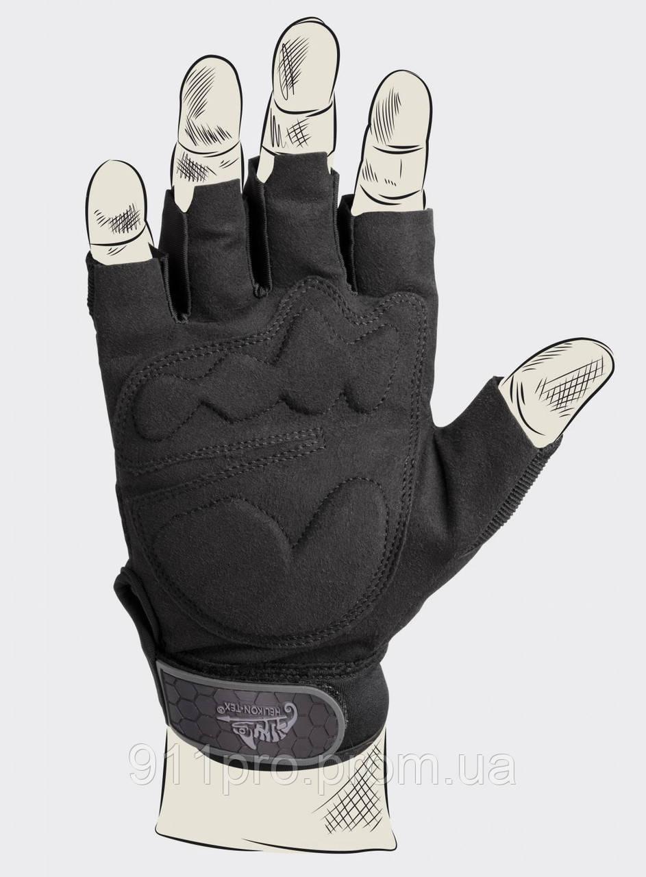 """Перчатки тактические Half Finger Gloves ( HFG) - Helikon-tex - Магазин """"Особистий захист"""" в Киеве"""