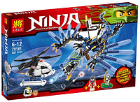 """Конструктор Ninja 79141 """"Битва Дракона-Молнии""""  (657 деталей) KK"""