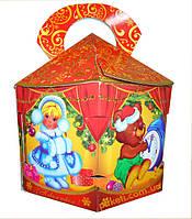 Новогодняя упаковка Новогодняя игрушка 1500г., фото 1