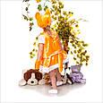 Детский новогодний костюм для девочки Лисичка, фото 2
