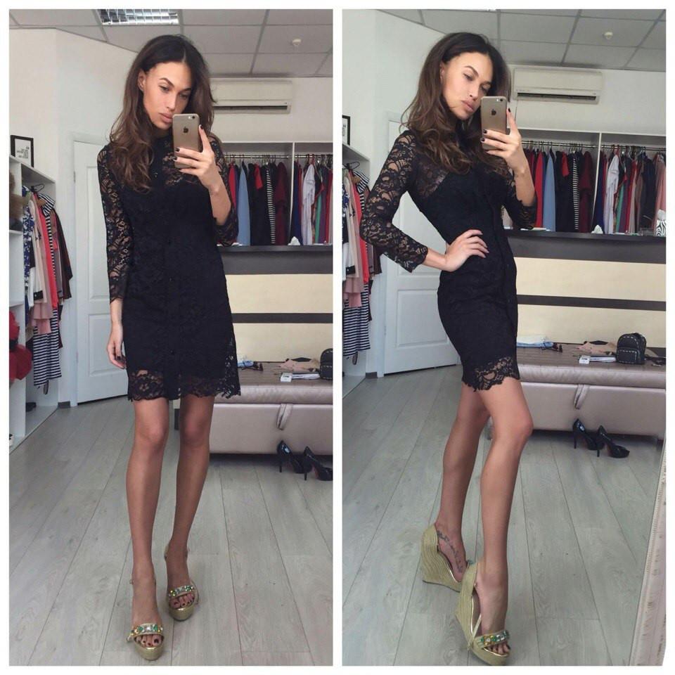 e05df4d3bee4aef Платье valentino кружевное черное - Модадром