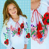 Украинские вышиванки для девочек