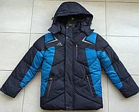 Куртка зимняя на мальчика 6-7 лет