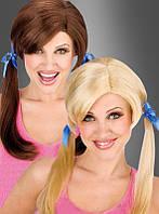 Искусственный парик школьницы
