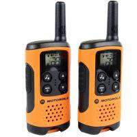 Рация Motorola TLKR T41, комплект 2шт. (PMR446, 0.5Вт), оранжевая