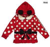 Теплая кофта Minnie Mouse для девочки. 5, 6, 6-7 лет, фото 1