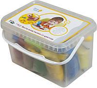 Набор для детской лепки Dream Makers Тесто-пластилин 12 цветов (TA1068)