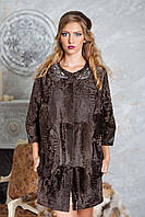 "Пальто из каракульчи ""Августа"" swakara broadtail jacket coat furcoat, фото 1"