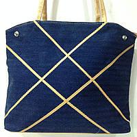 Джинсовая сумка ― рюкзак  оптом