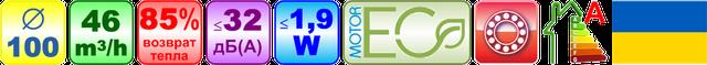 Особенности (осеновные технические характеристики и параметры) комнатных проветривателей с регенерайией энергии (рекуператоров) Домовент СОЛО