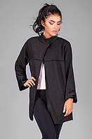 Кардиган-пальто из высококачественного теплого трикотажа