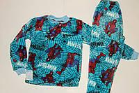 Пижама махровая на мальчика 28 р Человек Паук Новинка.