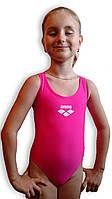 Купальник подростковый спортивный для бассейна. Arena. Розовый. 2065.1