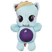 Мягкая пони ночник Радуга Дэш с подсветкой и мелодиями My Little Pony Rainbow Dash Glow Pony