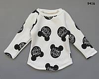 Теплая кофта Minnie Mouse для девочки. 120 см, фото 1