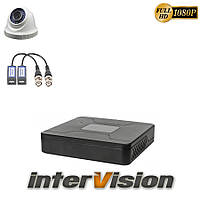 Комплект видеонаблюдения KIT-DOME141: 1 цифровая видеокамера  2.1 Mp Sony Exmor + видеорегистратор