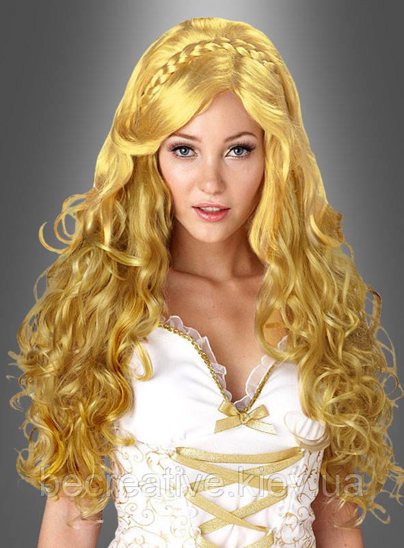 Карнавальный парик для образа ангела, богини