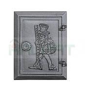 Чугунные дверцы для зольника DKR4 285x210