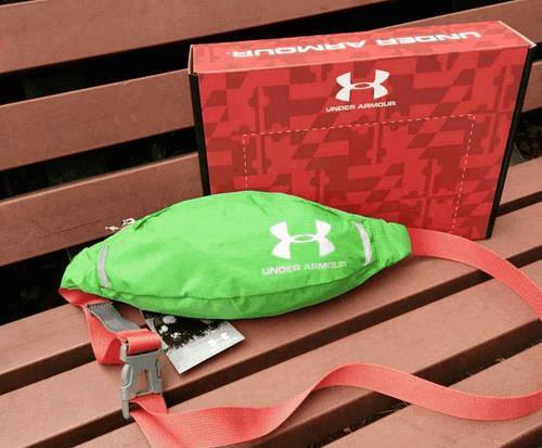 Классная сумка на пояс Under Armour 158, зеленый