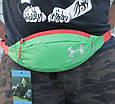 Классная сумка на пояс Under Armour 158, зеленый Копия, фото 3