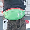 Класна сумка на пояс Under Armour 158, зелений Копія, фото 4