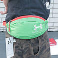 Классная сумка на пояс Under Armour 158, зеленый Копия, фото 4