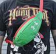 Классная сумка на пояс Under Armour 158, зеленый Копия, фото 6