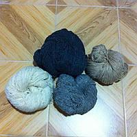 Пряжа из натуральной 100% овечьей шерсти