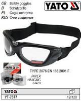 Очки окуляри захисні прозорі YATO-7377