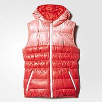Детский утепленный жилет для девочек Adidas (Артикул: AY6793)