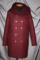 Стеганное демисезонное пальто, фото 1