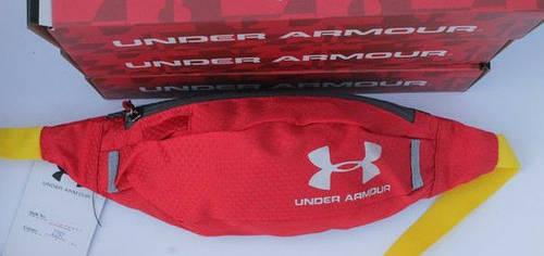 Яркая сумка на пояс Under Armour 160, красная