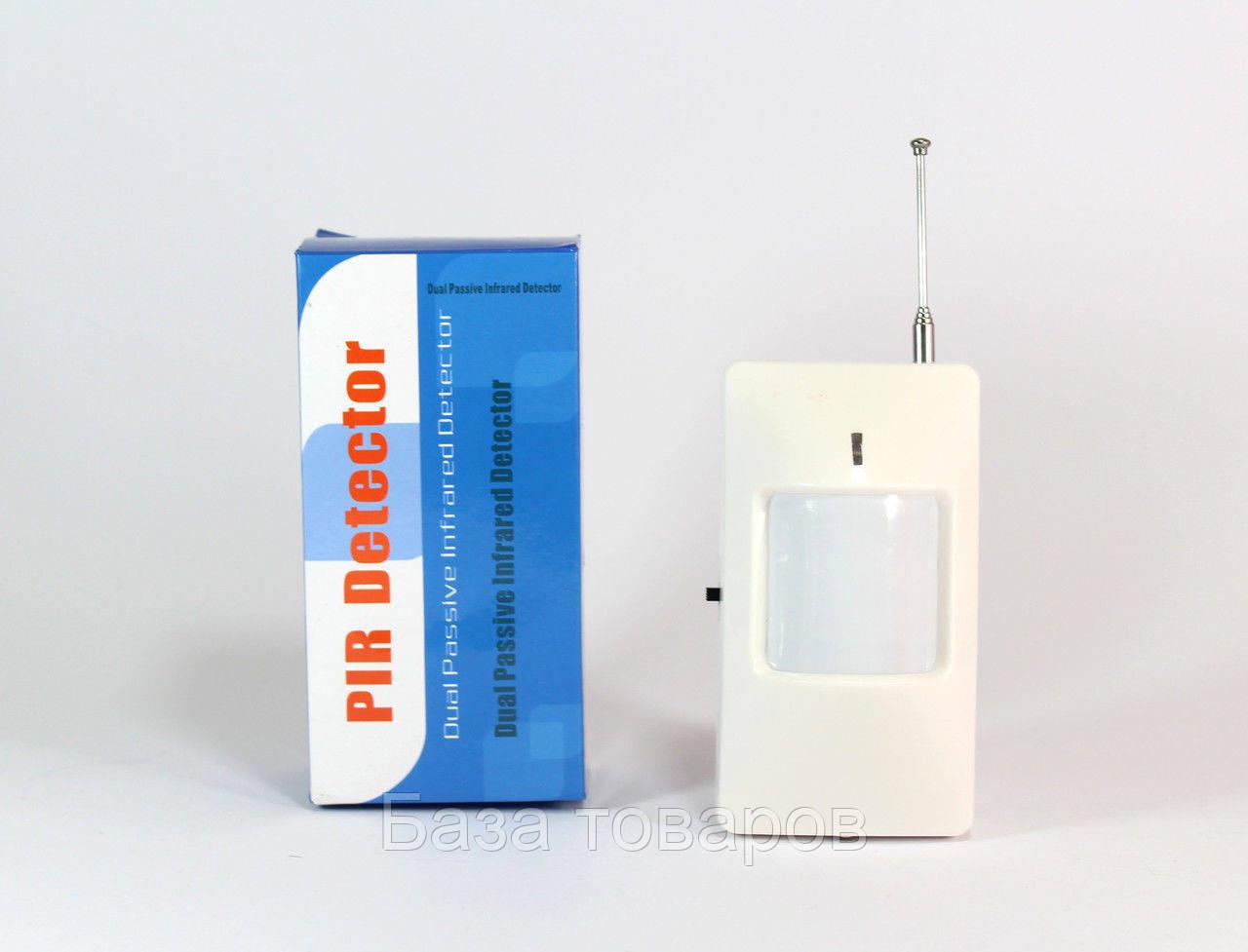 Датчик движения для GSM сигнализации, беспроводной датчик движения 433 мГц для охранной сигнализации - База товаров в Одессе