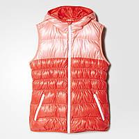 Детский утепленный жилет для девочек Adidas (Артикул: AZ2597)