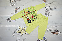 Детский комплект (пижама) для мальчика Турция 9-12 мес